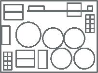 hatronic compact Gehäuseloser Frequenzumrichter DriveCCI universal